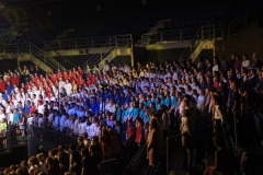 On stage Massed Choirs - 021