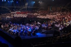 On stage Massed Choirs - 092