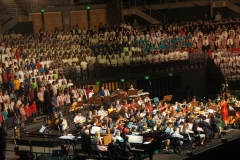 On stage Massed Choirs - 101